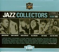 JAZZ COLLECTORS - John Coltrane, Duke Ellington, Chet Baker - 3 6 CD NEU