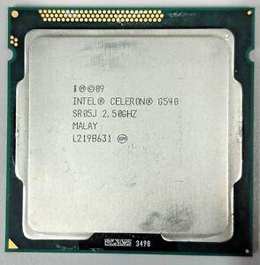 Intel Celeron G540 - 2.5 GHz Processor