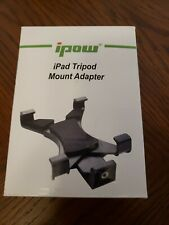 ipow iPad Tripod Mount Adapter Universal Tablet Clamp Holder FREE SHIPPING