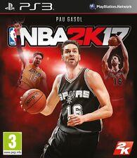 NBA 2K17  PS3 PAL ESPAÑA CASTELLANO PRECINTADO NUEVO 2017 17 ESPAÑOL