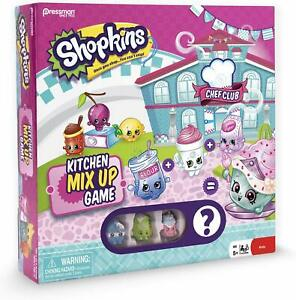 SHOPKINS Kitchen Mix Up Game with 4 Exclusive Shopkins