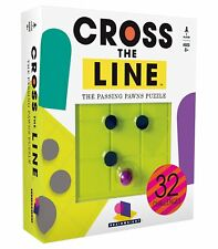 Board game Toy, Cross The Line Game, 32 Challenges  Smart Fun Puzzle Game