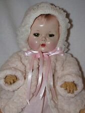 """14"""" Vintage American Character Tiny Tears Baby Doll"""