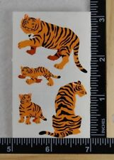 Mrs Grossman TIGERS Stickers 1/2 SHEET VINTAGE RETIRED