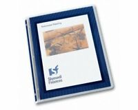 "Avery Flexi-view Presentation Binder - Letter - 8.50"" X 11"" - 100 Sheet Capacity"