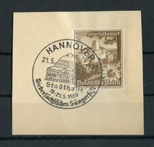 """Deutsches Reich Nr.675 Bfs. SST """"HANNOVER 21.5.1939 - SÄNGERFEST"""" (128217)"""