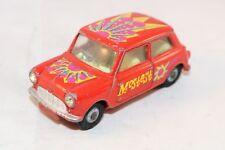 """Corgi Toys 349 Morris Mini Minor """"Pop Art"""" Mini Mostest very scarce model selten"""