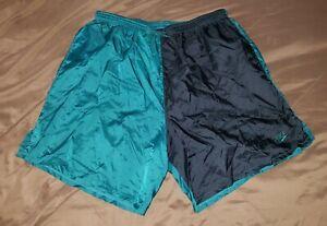 Nike Soccer Nylon Ripstop Shorts XL, Windbreaker Running Vintage Running Swim