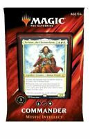 MYSTIC INTELLECT Commander 2019 Complete Deck MTG Sealed NEW IN BOX