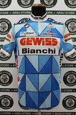 maglia ciclismo bike GEWISS BIANCHI TG 7 E771 shirt maillot trikot jersey