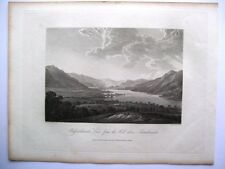 Bassenthwaite Lake, from the hill above Armathwaite (published Sept 15th, 1815)