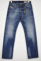 RRP €179 DIESEL LARKEE R248D STRETCH Men's W32/L30 Straight Faded Jeans 11773*mm