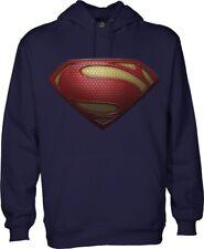 Superman Men's Hooded Sweatshirt Hoodie - Medium
