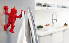 SALE Home Design Gifts Funky Robot Key Hanger Hook Magnet & kitchen Towels