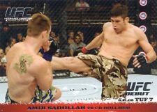 2009 TOPPS UFC ROUND 1 DEBUT  ROOKIE RC AMIR SADOLLAH #87
