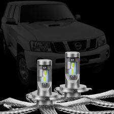 Nissan Patrol GU 1997 - 2013 LED Headlight Conversion Kit LLA Vanquish