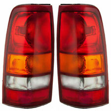 FOR GMC SIERRA 1999 2000 2001 2002 REAR TAIL LAMPS RIGHT & LEFT PAIR SET