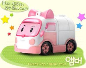 Academy Robocar Poli Diecast Series Mini Figures - AMBER Korean TV Animation Toy