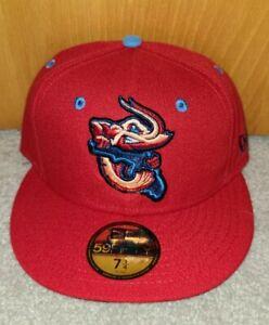 Jacksonville Jumbo Shrimp Alternate New Era 5950 Cap Hat NWT 7 1/4 Free Shipping
