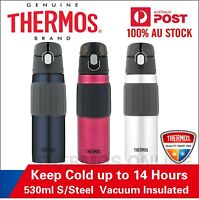 New THERMOS 530ml Stainless Steel Vacuum Insulated Hydration Bottle Vaccum Flask