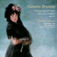 Brunetti: Divertimenti para Tr¡o de Cuerda, Serie IV (CD, Aug-2014, Lindoro)
