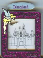 DLR It's Magic with Tinker Bell and Sleeping Beauty's Castle in Frame On Card.