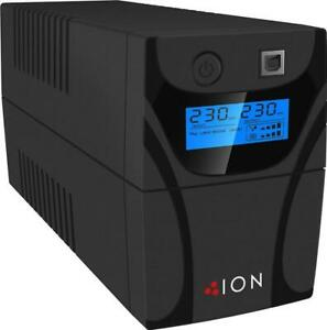 ION F11 650VA / 390W Line Interactive UPS w AVR - 2 Outlets for Home or Office