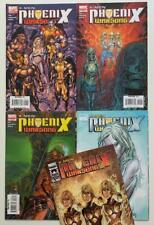 X-men Phoenix Warsong #1 to #5 complete (Marvel 2006) VF+ & NM condition issues.