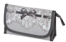 Mathilde M Make Up Pouch With Handy Mirror Dentelle Small Bag Cosmetic Case Gift