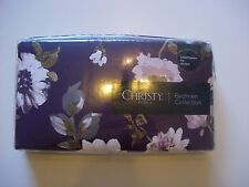 CHRISTY  'CARLOTTA FIG  '  PAIR OF OXFORD PILLOWCASES BNIP