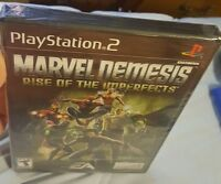 PS2 Marvel Nemesis Rise Of The Imperfects BRAND NEW FACTORY SEALED. GREAT NEW!😀