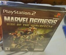 PS2 Marvel Nemesis Rise Of The Imperfects BRAND NEW FACTORY SEALED. Loose disk