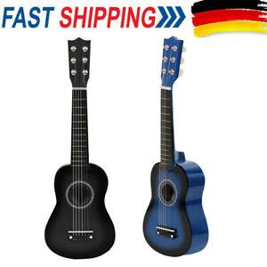 21 Kinder Akustik Gitarre 6 Saiten Mini Kindergitarre Spielzeug Trainining I2R2