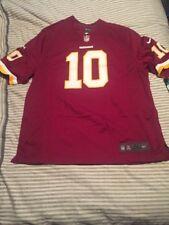 Nike Robert Griffin RG3 Washington Redskins Mens On-Field Jersey Size XL