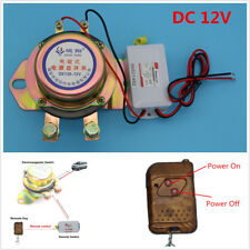 Car Battery Switch Disconnect Solenoid Valve Terminal Master Kill Remote Control