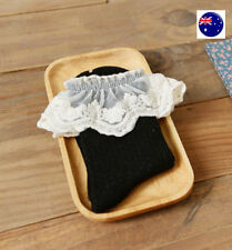 Patternless Ankle-High Hand-wash Only Socks for Women