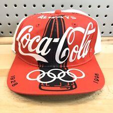 Always Coca-Cola Classic 1996 Olympic Games Hat Atlanta GA EUC Snap Back RARE