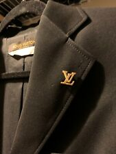 / tie pin Golden Louis Vuitton Brooche lapel