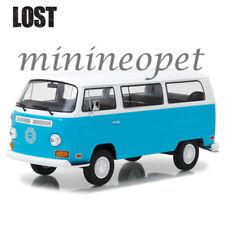 Greenlight 84033 Lost Tv Series 1971 Vw Volkswagen Dharma Van 1/24 Blue White