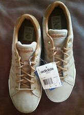 Mens Size 8 adidas Neo Daily SNEAKERS F97754 Brown Tan Canvas Shoes
