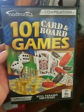 101 Card & Board Games -   PC GAME - FREE POST *