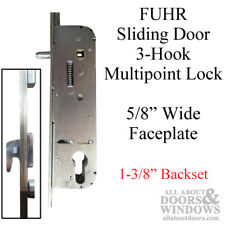 "Sliding Door 3-Hook Lock: 35mm Backset - For 6'8"" Sliding Door"