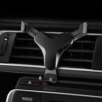 360°Gravity Car Phone Holder Air Vent Mount Stand for iPhone Samsung S8 S9 LK