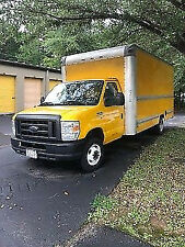 2011 Ford e350 Super Duty box truck in great shape with blown 5.4  motor