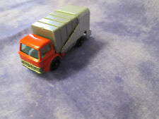 Vintage 1960s Matchbox/Lesney Series #7 Red And Grey Refuse Truck