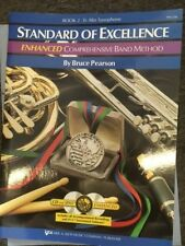 STANDARD OF EXCELLENCE ENHANCED BAND METHOD ALTO SAX BOOK 2