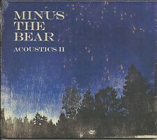 MINUS THE BEAR Acoustics II OUT OF PRINT CD w/ 2 UNRELEASED & 8 RARE VERSIONS CD