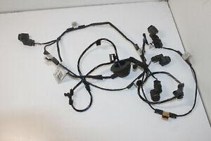 #8036 Skoda Superb 2014 Rhd Pdc Cablaggio & Sensori di Parcheggio 3T9971104F