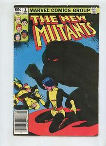 The New Mutants #3 (1983) High Grade VG 4.0