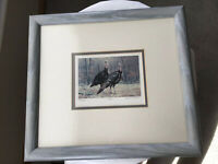 """Limited Edition """"Twosome"""" Original Lithograph 326/950 by Gerald H. Lubeck Signed"""